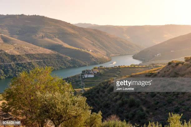 Douro River Valley with river cruise over Terraced Vineyards