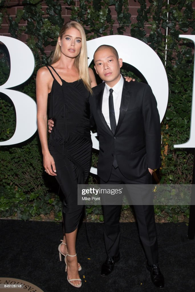 Doutzen Kroes and Jason Wu attend the 2017 BoF 500 Gala at Public Hotel on September 9, 2017 in New York City.