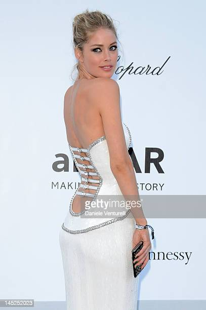 Doutzen Kroes arrives at 2012 amfAR's Cinema Against AIDS during the 65th Annual Cannes Film Festival at Hotel Du Cap on May 24 2012 in Antibes France