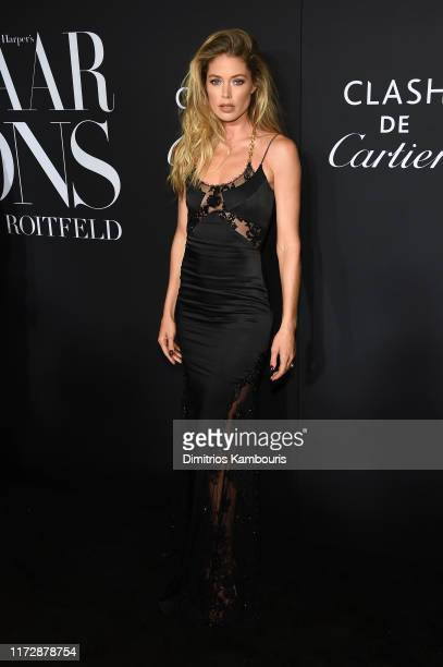 "Doutzen Kroes attends as Harper's BAZAAR celebrates ""ICONS By Carine Roitfeld"" at The Plaza Hotel presented by Cartier - Arrivals on September 06,..."