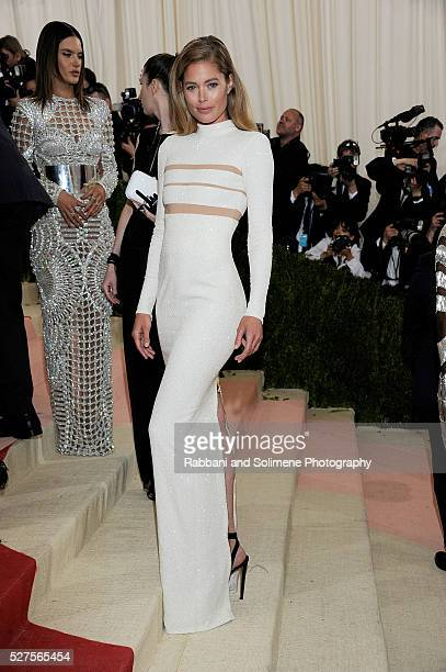 Doutzen Kroes attends 'Manus x Machina Fashion In An Age Of Technology' Costume Institute Gala at