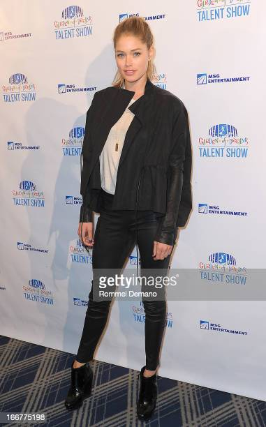 Doutzen Kroes attends the 2013 Garden of Dreams Foundation Talent Show at Radio City Music Hall on April 16 2013 in New York City