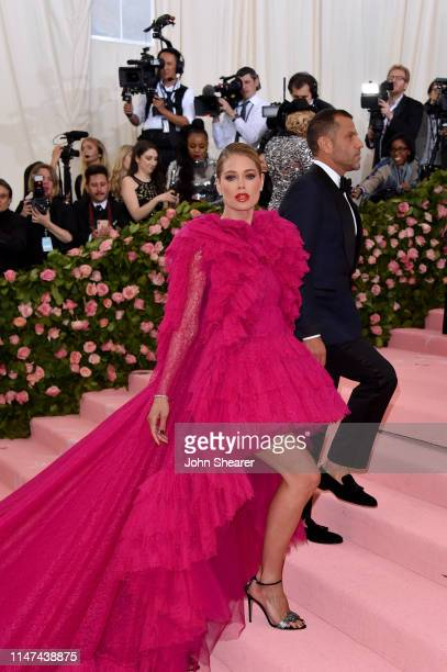 Doutzen Kroes attends The 2019 Met Gala Celebrating Camp: Notes On Fashion at The Metropolitan Museum of Art on May 06, 2019 in New York City.