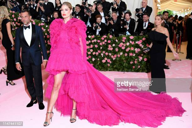 Doutzen Kroes attends The 2019 Met Gala Celebrating Camp Notes on Fashion at Metropolitan Museum of Art on May 06 2019 in New York City