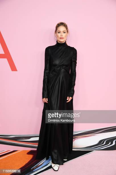 Doutzen Kroes attends the CFDA Fashion Awards at the Brooklyn Museum of Art on June 03 2019 in New York City