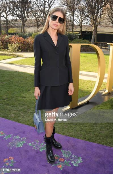 Doutzen Kroes attends the Dior Haute Couture Spring/Summer 2020 show as part of Paris Fashion Week at Musee Rodin on January 20 2020 in Paris France