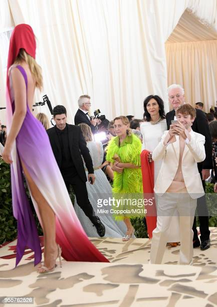 Doutzen Kroes attends the Heavenly Bodies Fashion The Catholic Imagination Costume Institute Gala at The Metropolitan Museum of Art on May 7 2018 in...