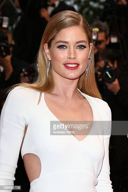 Doutzen Kroes attends the 'Jimmy P ' Premiere during the 66th Annual Cannes Film Festival at the Palais des Festivals on May 18 2013 in Cannes France