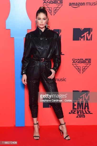 Doutzen Kroes attends the MTV EMAs 2019 at FIBES Conference and Exhibition Centre on November 03 2019 in Seville Spain