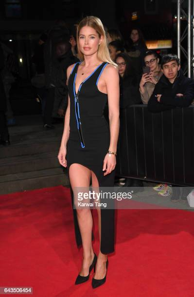Doutzen Kroes attends The Naked Heart Foundation's London's Fabulous Fund Fair at The Roundhouse on February 21 2017 in London United Kingdom