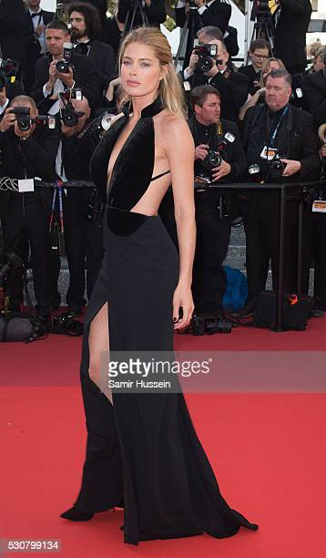 Doutzen Kroes attends the screening of 'Cafe Society' at the opening gala of the annual 69th Cannes Film Festival at Palais des Festivals on May 11...