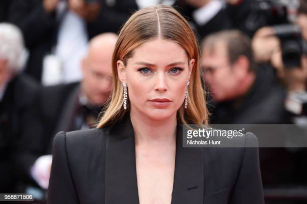 Doutzen Kroes attends the screening of Solo A Star Wars Story during the 71st annual Cannes Film Festival at Palais des Festivals on May 15 2018 in...