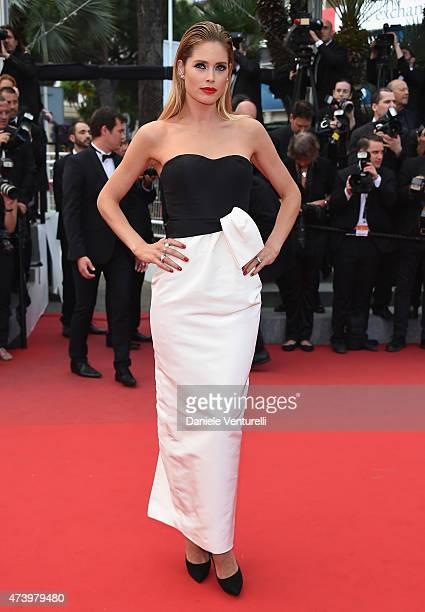 Doutzen Kroes attends the Sicario Premiere during the 68th annual Cannes Film Festival on May 19 2015 in Cannes France