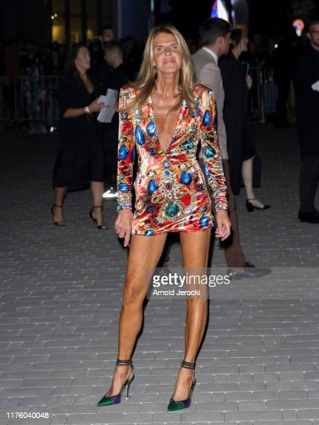 Doutzen Kroes is seen during the Milan Fashion Week Spring/Summer 2020 on September 20, 2019 in Milan, Italy.