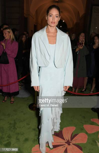 Doutzen Kroes wearing Max Mara attends The Green Carpet Fashion Awards Italia 2019 hosted by CNMI EcoAge at Teatro Alla Scala on September 22 2019 in...
