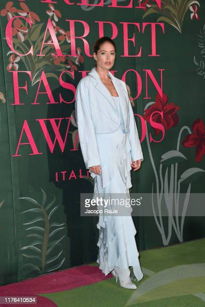 Doutzen Kroese attends the Green Carpet Fashion Awards during the Milan Fashion Week Spring/Summer 2020 on September 22 2019 in Milan Italy