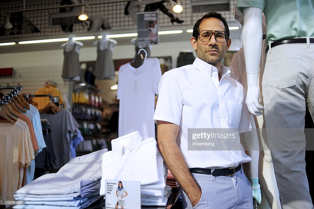 American Apparel Hipster Turns Preppy As Stock May Be Delisted : News Photo