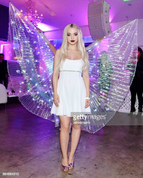 Dove Cameron attends Dove Cameron x BELLAMI Launch Party at Unici Casa Gallery on December 2 2017 in Culver City California
