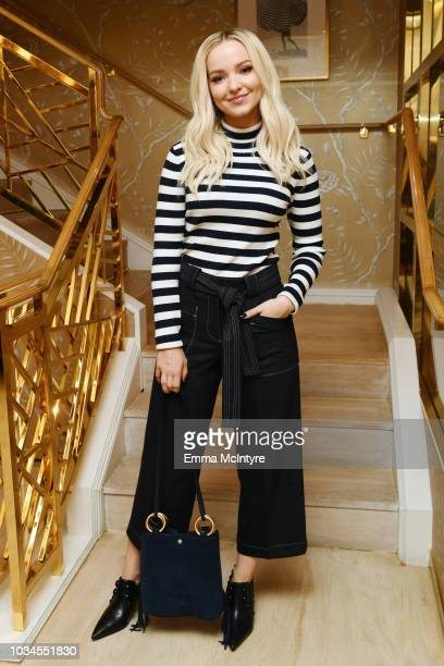 Dove Cameron attends Glamour x Tory Burch Women To Watch Lunch on September 16 2018 in Los Angeles California