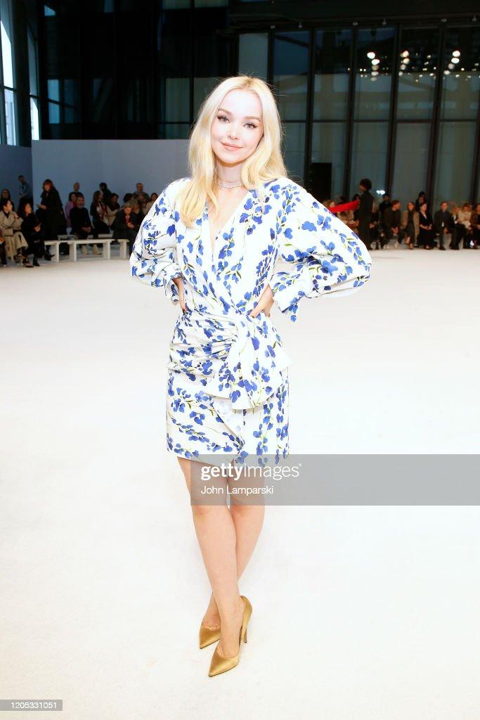 Carolina Herrera - Front Row - February 2020 - New York Fashion Week : ニュース写真