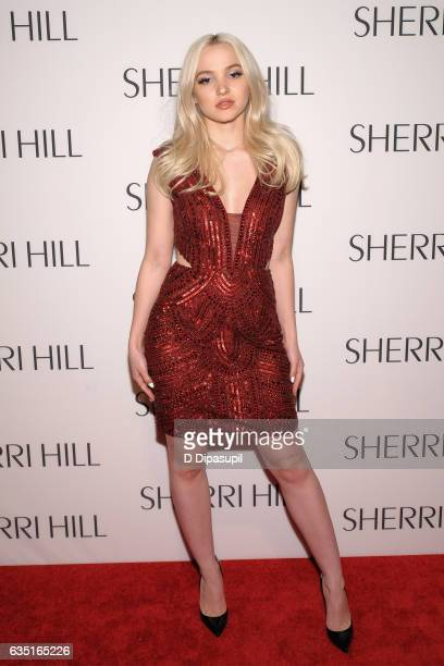 Dove Cameron attends the Sherri Hill NYFW Fall 2017 Runway Show at Gotham Hall on February 13 2017 in New York City