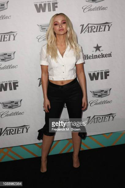 Dove Cameron attends Variety and Women in Film's 2018 PreEmmy Celebration at Cecconi's on September 15 2018 in West Hollywood California