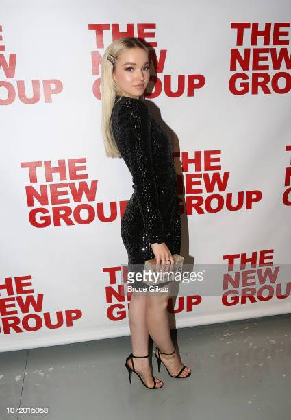 Dove Cameron poses at the opening night after party for the new musical based on the iconic film Clueless at The Green Fig Urban Eatery at Yotel on...