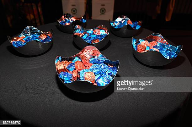 Dove Chocolate seen at the SAGAFTRA Auction Display and The 23rd Annual Screen Actors Guild Awards behind the scenes event on January 26 2017 in Los...