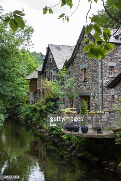 dove cottage, home of poet william wordsworth (1770-1850), grasmere, england, united kingdom - cockermouth stock pictures, royalty-free photos & images
