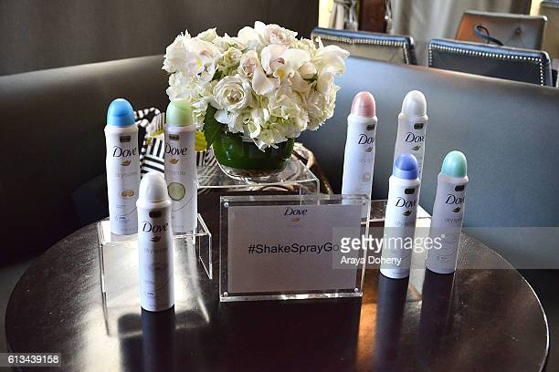 Dove Dry Spray at the Simply Stylist Sessions Hosted by Jamie Chung and Dawn McCoy at The Whisper Lounge on October 8 2016 in Los Angeles California