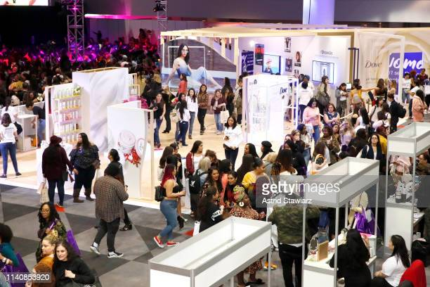 Dove Getty Images and Girlgaze debut Project #ShowUs at Beautycon NYC on April 06 2019 in New York City
