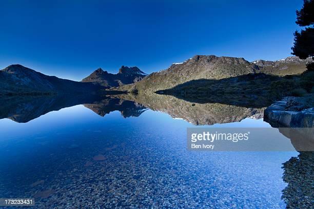 Dove Lake at Dawn, Cradle Mountain behind