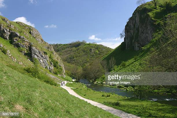 Dovedale Derbyshire Much of this scenic limestone valley in the Peak District is owned and managed by the National Trust