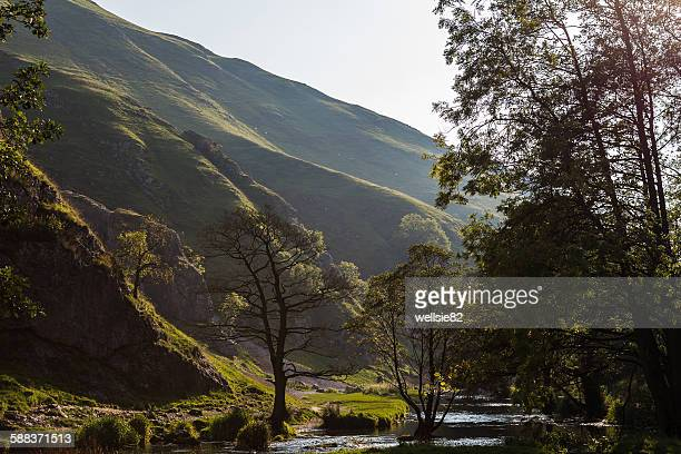 Dovedale in the autumn