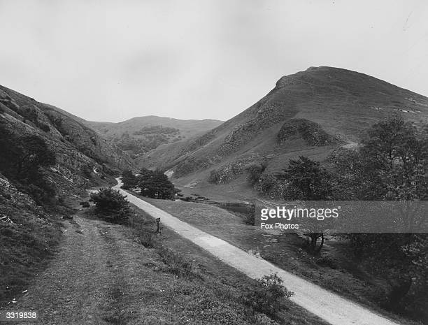 Dovedale in the Peak District Derbyshire