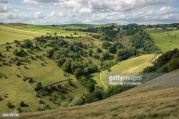 Dovedale in the Peak District national park