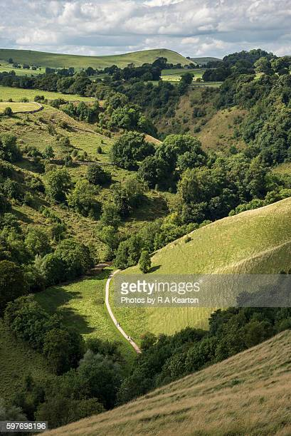 Dovedale in the White Peak, England