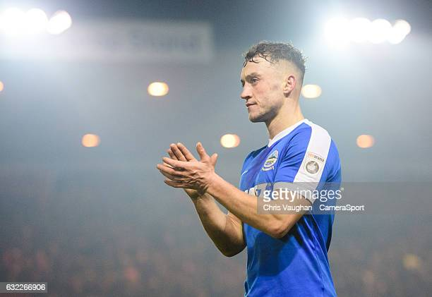 Dover Athletic's Ricky Miller during the Vanarama National League match between Lincoln City and Dover Athletic at Sincil Bank Stadium on January 20...