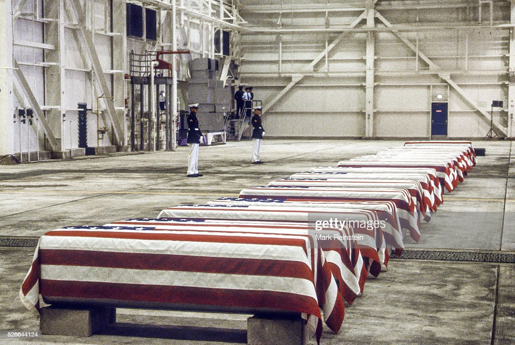 Marines Killed in Beirut and Grenada Are Returned Home : News Photo