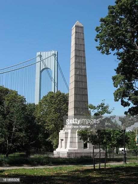 Dover Patrol Naval War Memorial Architect: Sir Aston Webb John Paul Jones Park Ex-Fort Hamilton Park Fort Hamilton Bay Ridge, Brooklyn The Dover...