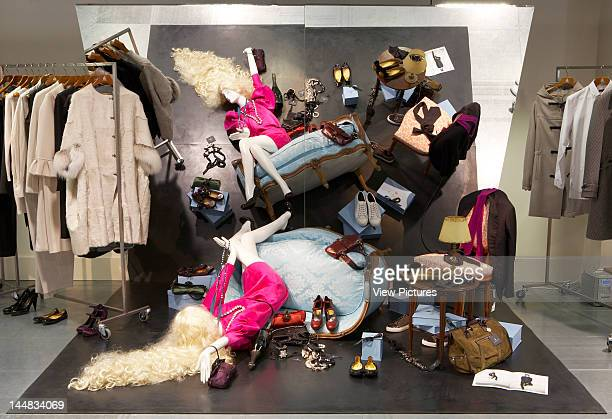 Dover Street Market, Dover Street, London, W1, United Kingdom, Architect: Rei Kawakubo Dover Street Market, Rei Kawakubo London, View Of Womenswear...