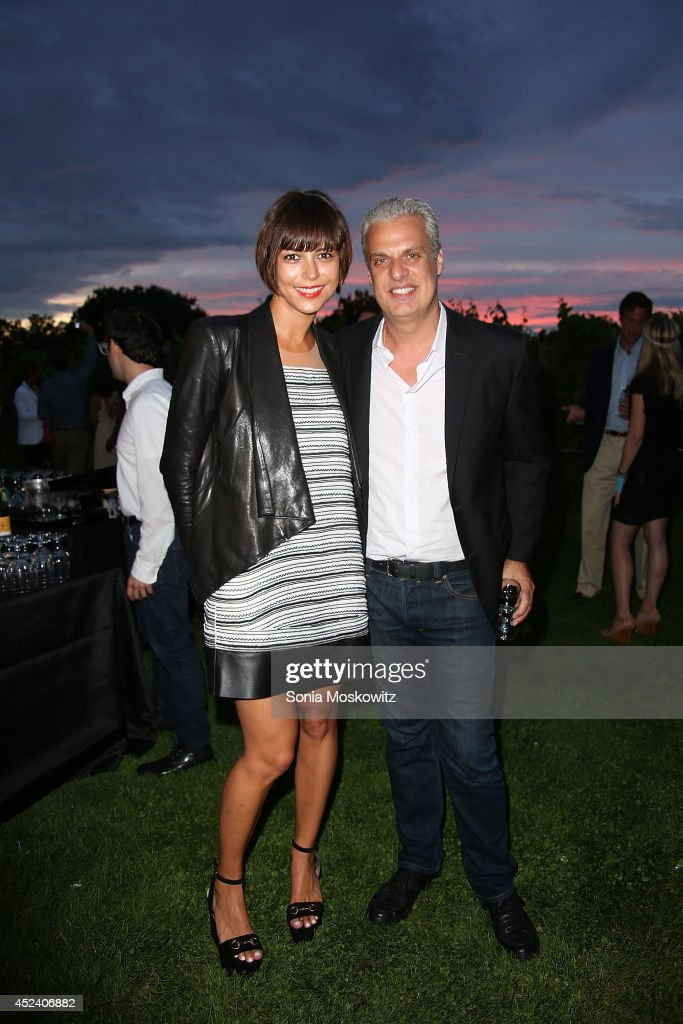 Dovile Drizyte And Eric Ripert Attend The 'Let's Misbehave