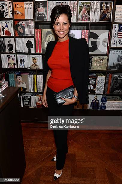 Dovile Drizyte Education Training Manager at Longchamp USA attends ASSOULINE Martine and Prosper Assouline host a book signing for Ketty PucciSisti...