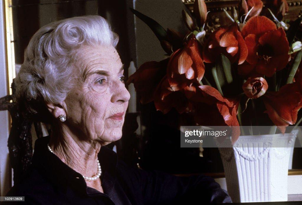 Queen Ingrid of Denmark : News Photo