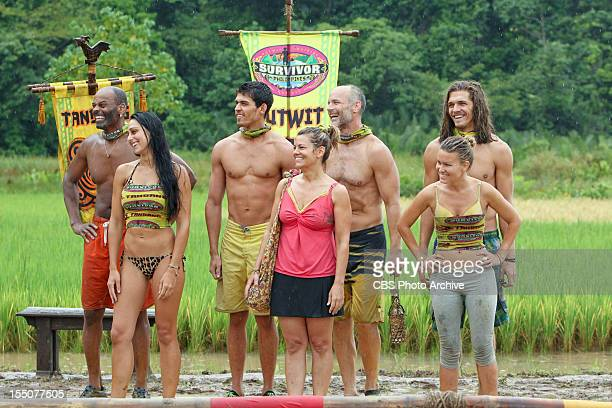 """""""Down and Dirty"""" - Artis Silvester, Roberta """"RC"""" Saint-Amour, Peter """"Pete"""" Yurkowski, Lisa Whelchel, Michael Skupin, Abi-Maria Gomes and Malcolm..."""