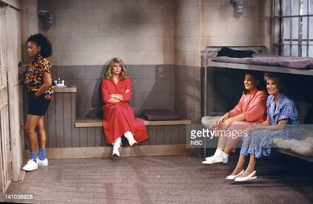 LIFE Down and Out in Malibu Part 2 Episode 2 Pictured Kim Fields as Dorothy 'Tootie' Ramsey Lisa Whelchel as Blair Warner Mindy Cohn as Natalie Green...