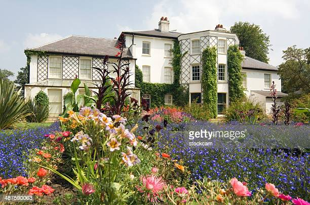 down house - charles darwin stock pictures, royalty-free photos & images