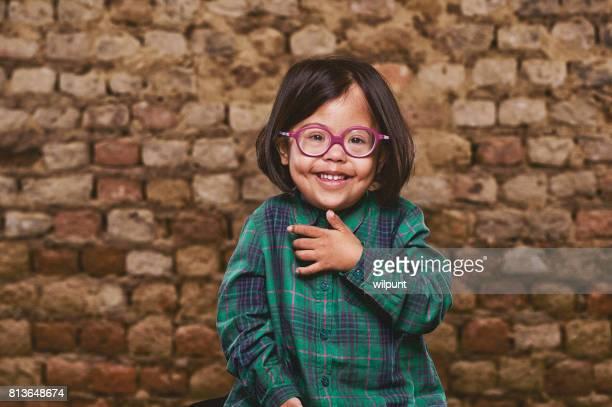 ダウン症の少女