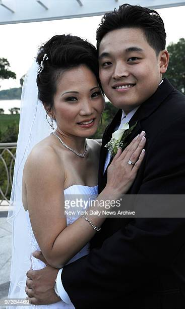 Down the Aisle Anna Kim and Michael Lau got married at VIP Country Club on Davenport Road in New Rochelle