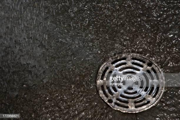 Down the drain-englische Redewendung